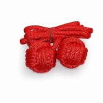 Practice Rope Meteor with 65mm monkeyfist Red 160cm