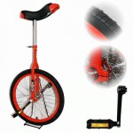 Indy 20 inch standard Trainer Unicycle - Red