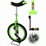 Indy Freestyle 20 inch unicycle - green