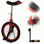 Indy Freestyle 20 inch unicycle - red