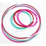 Play 'Perfect' Hula Hoop - Naked - 16mm - Red