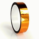 23m meter roll of 24mm hula hoop Metallic Pro Gaff tape Orange Metallic