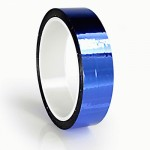 23m meter roll of 24mm hula hoop Metallic Pro Gaff tape Blue Metallic