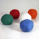 Advanced Juggling Ball - Single ugly thud 90g white