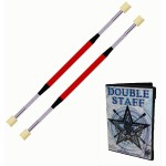 Double Fire Staff - 90cm 50mm Batons with DVD