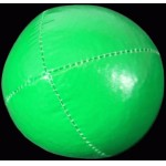 Juggling Balls - Single basic thud 110g green