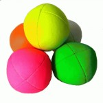 single Juggle Dream UV Smoothie Juggling Ball - yellow