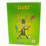 Mr Babache clubs booklet - learn juggling