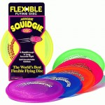 Single Aerobie Squidgie Disc frisbee