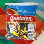 Clowns balloon twisting supplies - Qualatex 100pcs 260Q