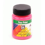 Face Paint Fluorescent 75ml UV Pink